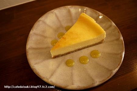 菓子店 Yonna◇沖縄県産シークワーサーチーズケーキ