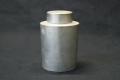 煎茶道具 乾茂號造 中国 錫製 茶入れ 茶壺01