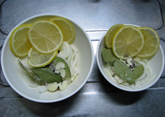 スパイスと香味野菜