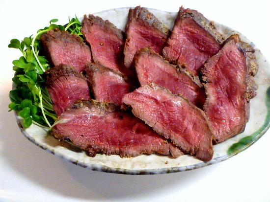 2015.11.13鹿肉のロースト1