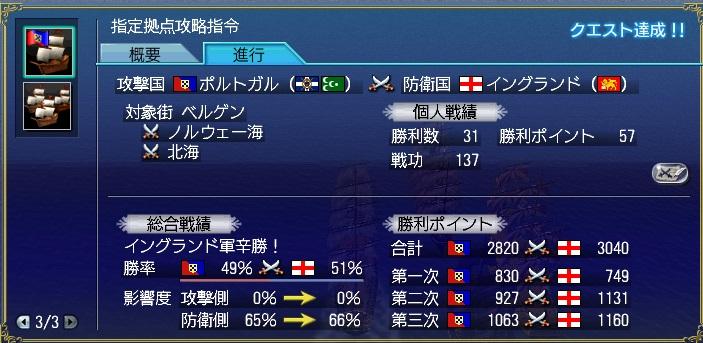 突撃大海戦 結果