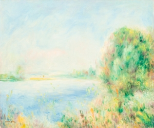 hikari museum renoir Banks of the River