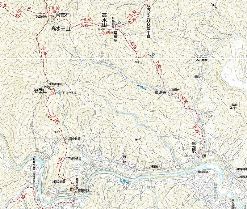 shukushou1高水三山 地図2