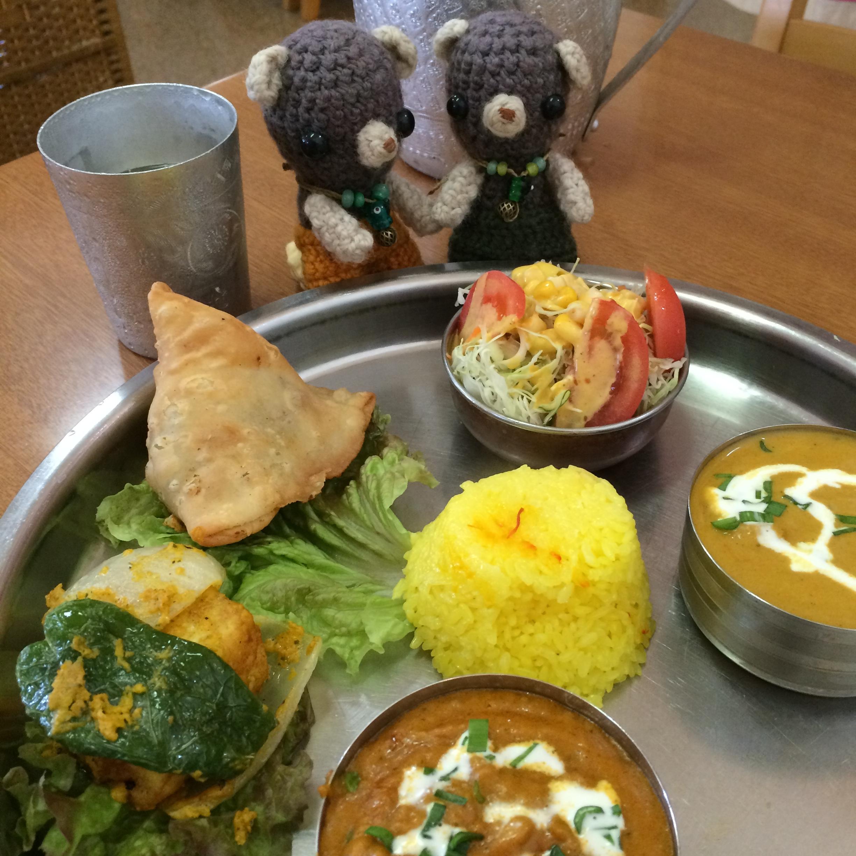 ラムじいさんのインドカレー食べてきた。