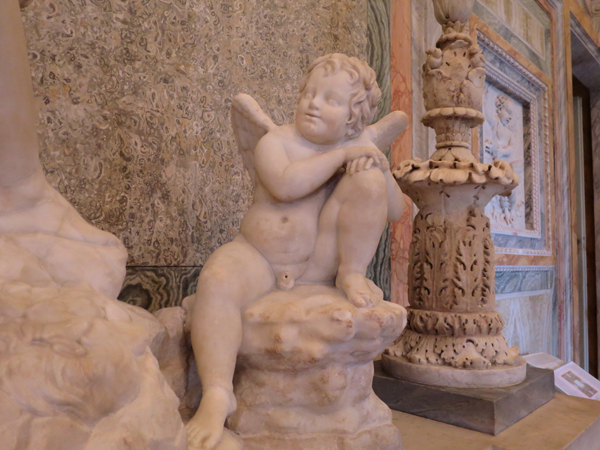 BORGHESE SCULTURE ANGE