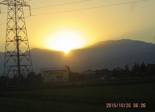 日の出・3