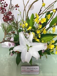 農水省に展示の花・いい夫婦の日