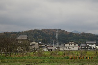 里山も紅葉