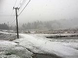 大長谷も雪