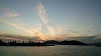 大津島の日の出