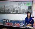 午前中大雪