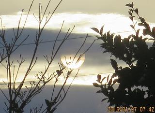 雲の陰・1