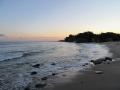 日立市・うのしまヴィラの砂浜
