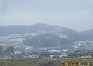 山麓の工業団地