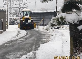 除雪車採用