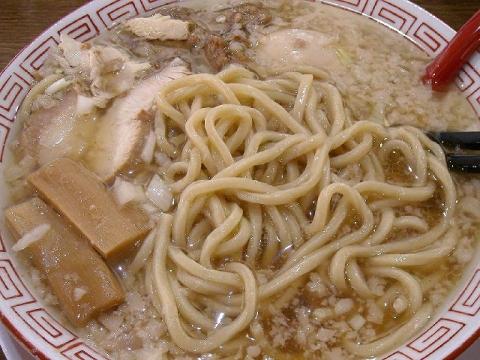鬼にぼ・H27・12 中華そば 麺