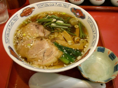 花果山・H27・4 煮干しラーメン