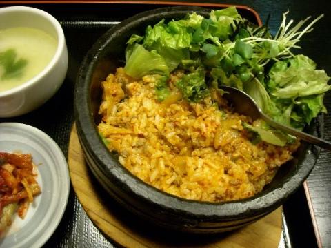 多来・H27・5 キムチ石焼 ご飯1