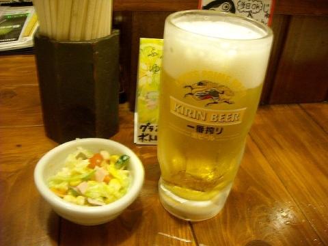 じゅんちゃん・H27・5 生ビール