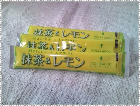 抹茶&レモン