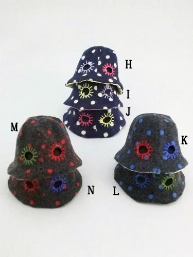きのこ帽子H~N