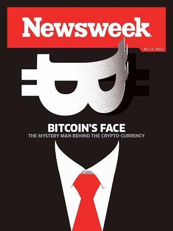 Nessweek ( BITCOIN'S FACE 2014.3.14 )