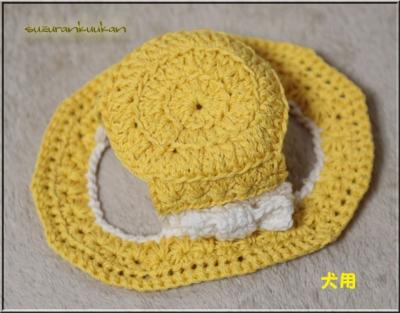 カンカン帽2 内周28cm ミモザ