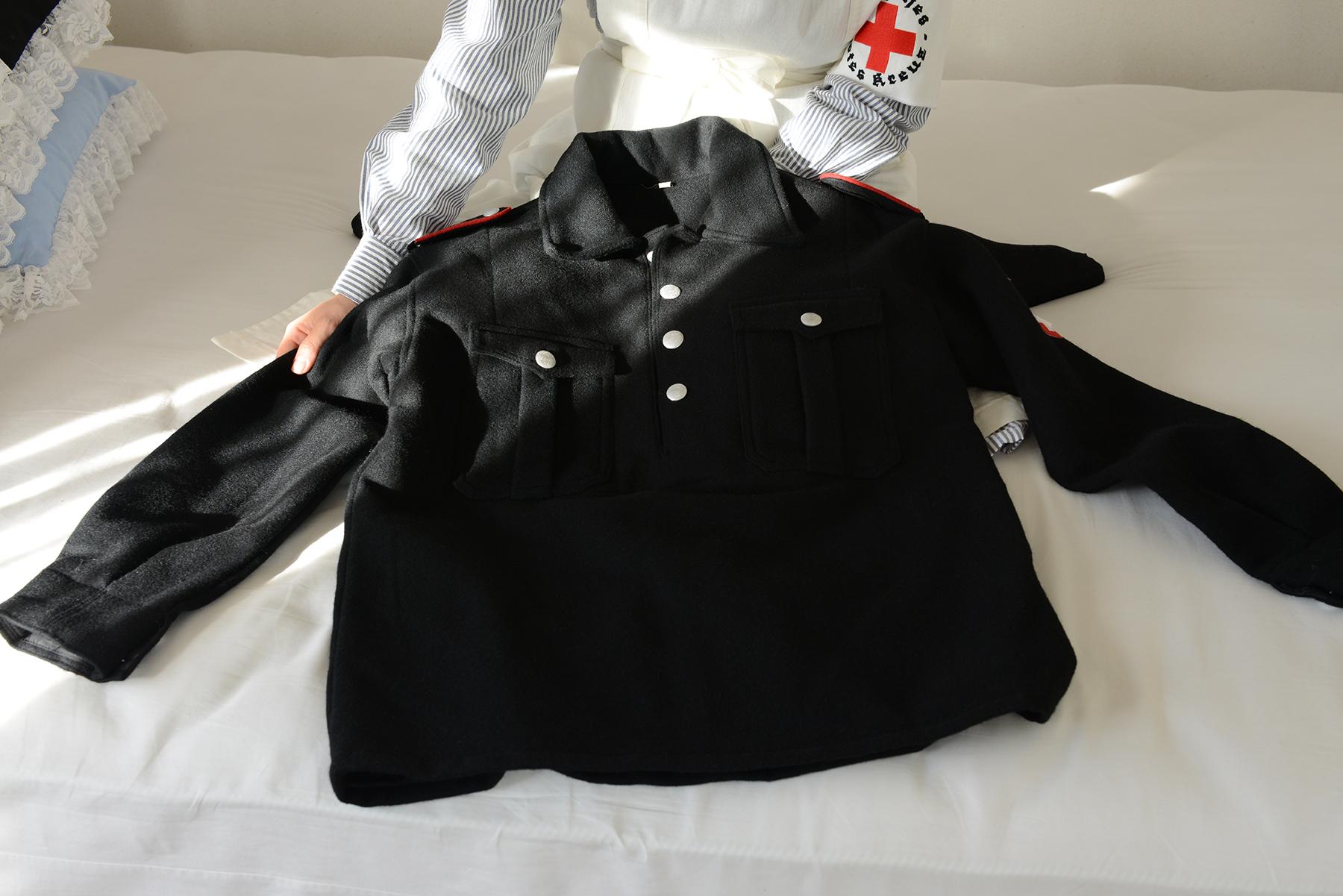 HJ冬季用黒ウールジャケット