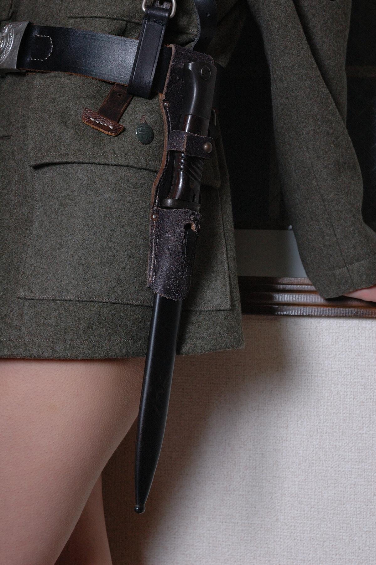 Kar98k銃剣/刀身カット合法加工品