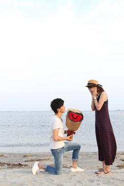 ハート型 バラ 花束 プロポーズ プレゼント 花夢