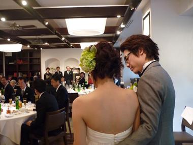 ハグ 結婚式 豊川 花屋 花夢