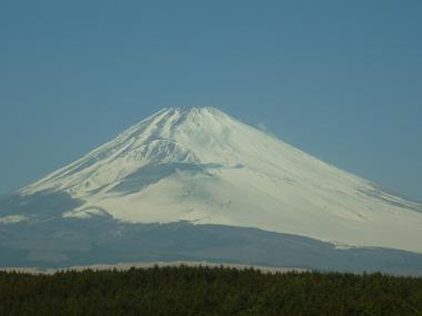 富士山 冬 試練 花夢