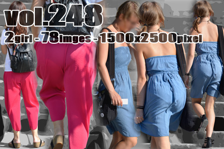 vol248-スケ黒パンティとくっきりPラインの豊満美尻