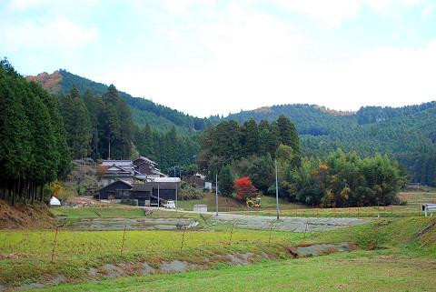 相寺の里山風景