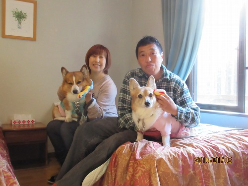 恒例!家族写真