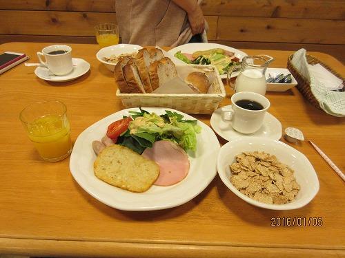 モンターニャの朝食