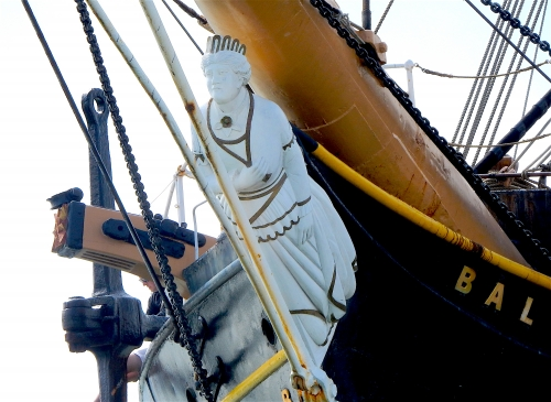 Balclutha Figure Head
