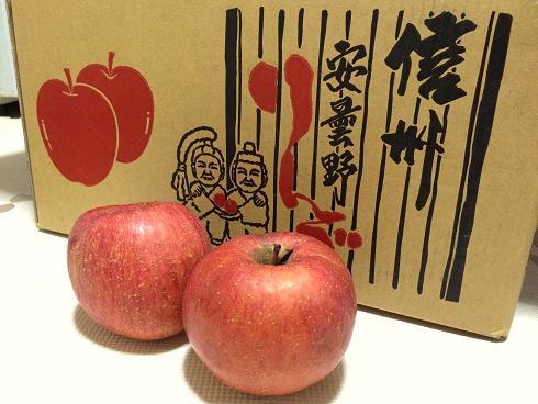 安曇野りんご 都子さんから