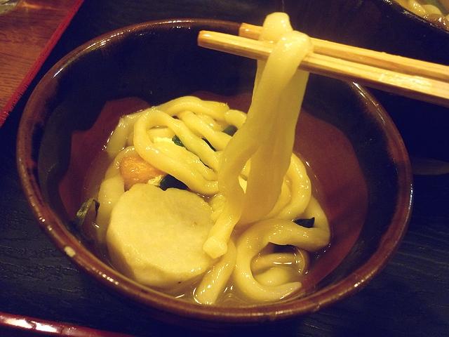 銭形 打ち込みの麺
