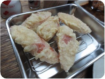 魚肉ソーセージ天
