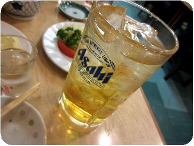 緑茶ハイ(大)