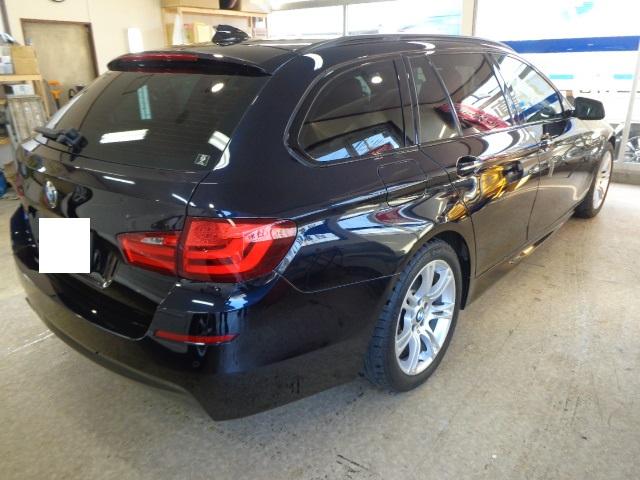BMW525ステーション紺