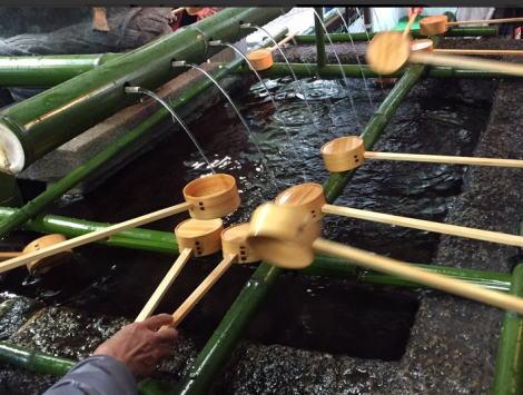 初詣は奈良の三輪神社へ行ってきました。
