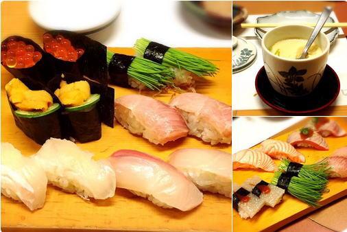 心斎橋にある「じねん」っていうお寿司屋さん。