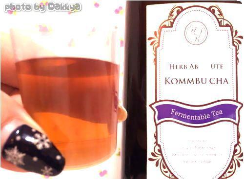 コンブチャとは紅茶キノコが進化したハーブアブソリュートコンブッカ
