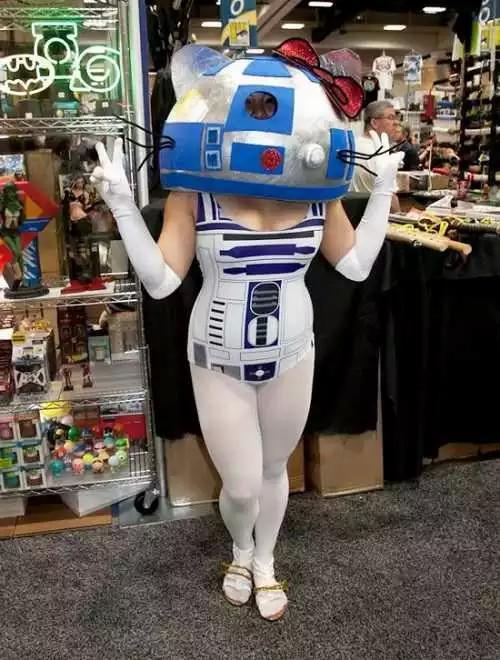 Star Wars ファン コスプレ R2