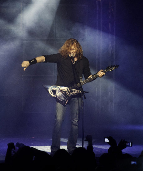 thumbs down dave mustaine