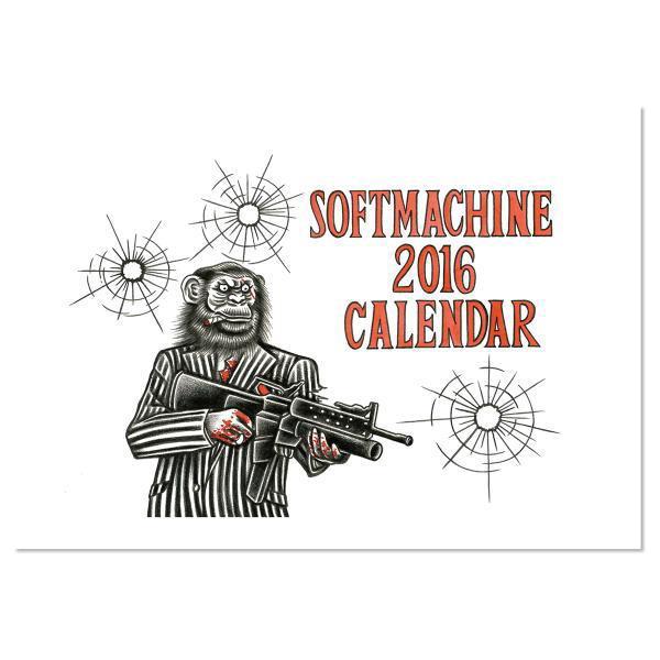 SOFTMACHINE CALENDAR 2016