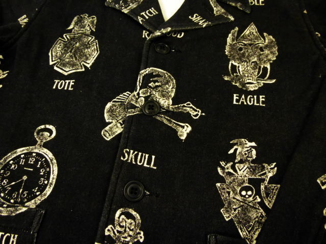 GANGSTERVILLE SHAVING-JACKET