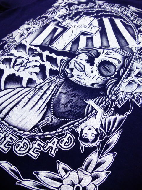 SOFTMACHINE×DAY OF THE DEAD ROCK OF AGES-T